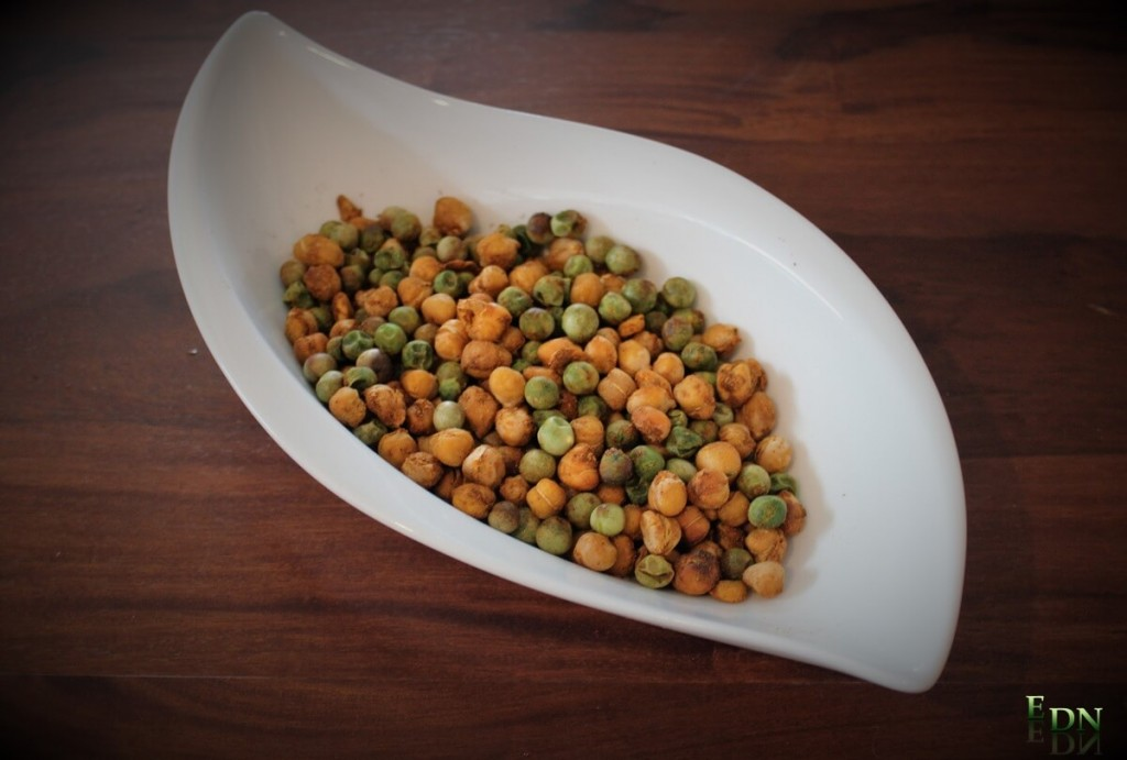 Spicy Pea and Chickpea 'Chips'